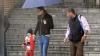 Cristiano Ronaldo a fost surprins de paparazzi în timpul unei plimbări cu fiul său
