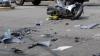 Impact fatal între un scuter şi un Volkswagen. Un băiat de 15 ani a murit, iar tatăl său a ajuns la spital