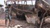 (VIDEO) Accident cu zeci de morţi şi răniţi! Un autobuz cu pasageri a luat foc, după ce s-a tamponat cu o cisternă cu petrol