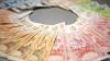 Leul moldovenesc se depreciază în raport cu moneda unică europeană