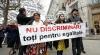 FOTO REPORT Au demonstrat că sunt discriminaţi şi au cerut drepturi egale. Vezi cum a fost marcată Ziua Internaţională a Romilor la Chişinău