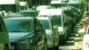 (VIDEO) Trafic blocat în Capitală! Sute de şoferi au stat în ambuteiaje din cauza lucrărilor de reparaţie de pe strada Alexei Mateevici