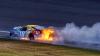 NASCAR Sprint Cup: Jimmie Johnson a devenit lider, iar maşina lui Kyle Busch a luat foc