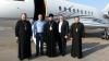 Mitropolitul Vladimir şi doi membri ai PLDM au plecat să aducă Focul Haric de la Ierusalim