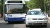 (VIDEO) Trafic blocat în Capitală, din cauza unui accident rutier