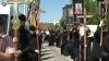 Premieră pentru Moldova! Sute de credincioşi au pornit într-un Drum al Crucii la Nisporeni