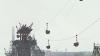 (VIDEO) Funicularul dintre Rezina şi Râbniţa riscă să se PRĂBUŞEASCĂ. Oameni stau cu frica în sân