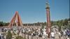"""Memorialul Eternitate, restaurat. Guvernul alocă circa 300.000 de lei pentru elementele care prezintă """"pericol public"""""""