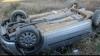 Accident cu final tragic. Doi morţi şi doi răniţi, după ce o mașină s-a răsturnat în şanţ