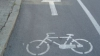 În Capitală practic nu există piste pentru biciclişti, iar autorităţile spun că le vor amenaja după reconstrucţia străzilor