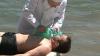 (VIDEO) Caz de înec la Costeşti-Stânca. Un medic a încercat din răsputeri să ajute victima