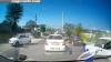 Un automobil al MAI, surprins pe contrasens VIDEO