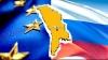 Numărul moldovenilor care vor integrarea ţării în UE, egal cu cel al cetăţenilor care îşi doresc apropierea de Federaţia Rusă