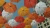 100 de umbrele colorate au fost atârnate într-un parc din New York. AFLĂ motivul