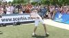 Show la Bălţi: Patru tineri care practică Freestyle Football au făcut o demonstraţie inedită (VIDEO)