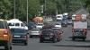 Un animal îndărătnic a fost surpins mergând liber pe o stradă din Chişinău în plin trafic (VIDEO)