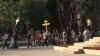 (VIDEO) Drumul Crucii, la final. Sute de credincioşi au urmat o icoană făcătoare de minuni în jurul Chişinăului