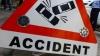 Un nou accident lângă Bilicenii Vechi: Un BMW s-a izbit într-un microbuz cu pasageri