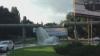 (VIDEO) Strada Albişoara din Chişinău, inundată. Unii şoferi au profitat şi şi-au spălat maşinile