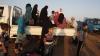 Date înfricoşătoare în Siria: Zilnic, peste 6.000 de persoane sunt nevoite să-şi abandoneze ţara