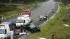 Un autobuz cu pasageri a lovit mai multe maşini pe un viaduct din Italia. 38 de persoane au murit