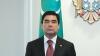 """POZA ZILEI! Preşedintele Turkmenistanului, Gurbangulî Berdîmuhamedov, cu """"coarne"""" la Chişinău"""