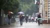 Meteorologii au prognozat pentru astăzi ploi slabe, însoţite de fenomene electrice