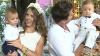 (VIDEO) Sărbătoare în familia lui Alexandru şi a Olgăi Manciu! Gemenii lor au împlinit un anişor