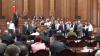 SCANDAL în Parlament! Comuniştii au blocat tribuna şi au pornit sirenele (VIDEO)