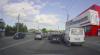 """PERICULOS! Ce a păţit un şofer din Chişinău, care a """"sărit"""" peste o bandă, fără să semnalizeze acest lucru (VIDEO)"""