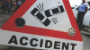 Accident cu victime la Botanica. Un bărbat şi o tânără au ajuns în stare gravă la spital
