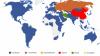 Cum îşi împart reţelele sociale harta lumii şi ce s-a schimbat în ultimii 4 ani