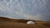 A răsărit în mijlocul deşertului! Imagini SPECTACULOASE cu una dintre cele mai extravagante construcţii din lume