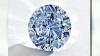 Un diamant albastru, extrem de rar, va fi scos la licitaţie în Hong Kong