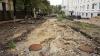 Strada pietonală, ca după război. Autorităţile promit că va fi gata până pe 14 octombrie (GALERIE FOTO)