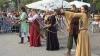Sărbătoarea Limba Noastră, marcată cu expoziţii, master class-uri şi lupte în stil medieval,  în capitală VIDEO