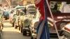 Raliu de excepţie la Havana. Peste 60 de maşini de epocă au defilat pe străzile oraşului VIDEO