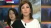 O fetiţă a devenit celebră după ce a apărut întâmplător în direct, la un post TV