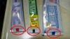 Cât de bună este pasta de dinţi după codul culorilor de pe tub