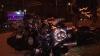 Accident în Chişinău. Un motociclist a ajuns la spital, după ce s-a izbit violent de o maşină