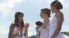 Ziua Independenţei, marcată inedit la Soroca: Zece mirese au defilat în Piaţa Libertăţii (VIDEO)