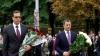 22 de ani de la proclamarea independenţei Republicii Moldova. Zeci de oficiali au depus flori la monumentul lui Ştefan cel Mare şi Sfânt (FOTO/VIDEO)