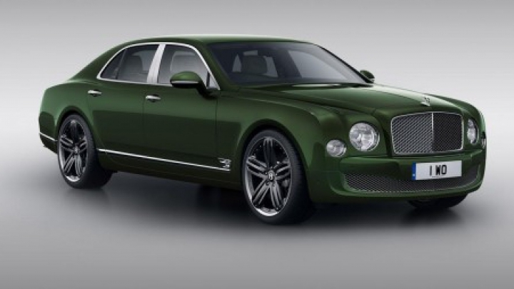 Bentley va lansa o nouă ediţie limitată pentru modelul Mulssane