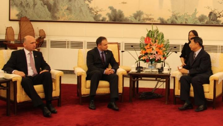 Companiile chineze, interesate de posibilitățile de afaceri din  Republica Moldova