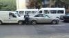 (FOTO) Accident în lanţ în sectorul Buiucani. Trei maşini, implicate în coliziune