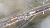Accident în lanţ în Marea Britanie: 200 de persoane au fost rănite, iar 100 de maşini - lovite
