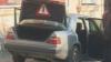 Maşina unui avocat din regiunea transnistreană, MINATĂ. În automobil se afla şi un bilet
