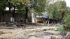 Lucrările în zona pietonală din Chişinău, SUSPENDATE, din cauza agenţilor economici care refuză demontarea teraselor existente