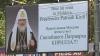 Panourile publicitare cu Patriarhul Kiril, din Chişinău, au fost instalate ilegal