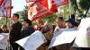 PSRM a făcut front comun cu PCRM şi au protestat la Ministerul Agriculturii. Ioniţă: Circul se află pe altă stradă (FOTO/VIDEO)